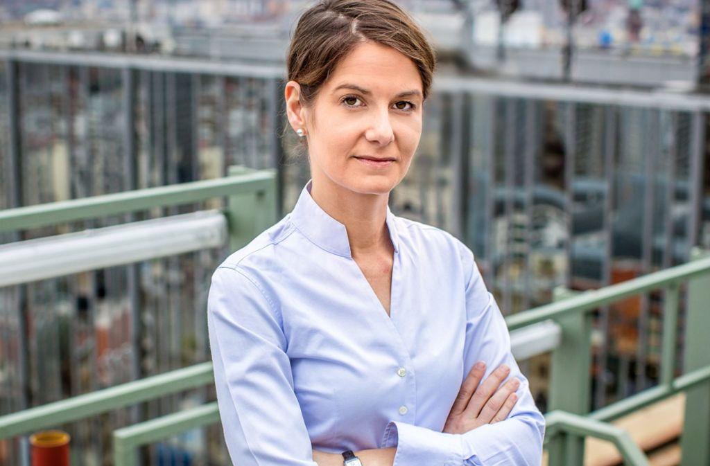 """Tanit Koch stand als erste Frau an der Spitze der Printausgabe von """"Bild"""". Nun geht sie. Foto: dpa"""