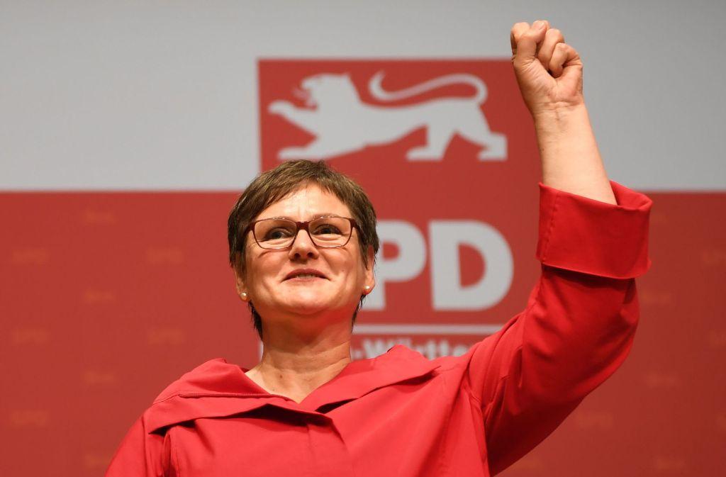 Seit Oktober vorigen Jahres führt Leni Breymaier die SPD in Baden-Württemberg. Nun profitiert auch sie, wie andere Landeschefs der Sozialdemokraten, vom Schulz-Effekt. Foto: dpa