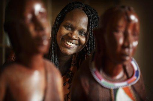 Elizabeth Wokabi vermittelt kenianisches Lebensgefühl. Foto: Gottfried Stoppel