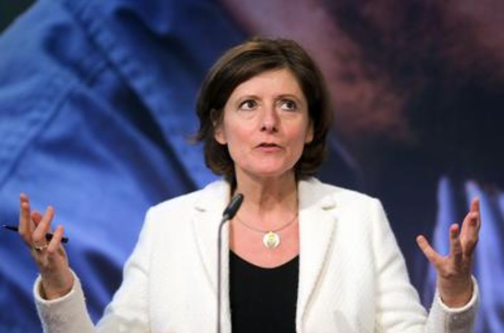 Die Ministerpräsidentin von Rheinland-Pfalz, Malu Dreyer (SPD), leidet an MS. Foto: dpa