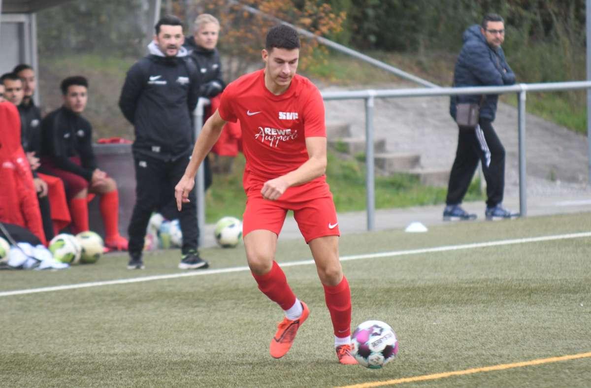 Fabijan Domic darf diese Saison auch im Pokal keine Tore mehr schießen. Foto: Maximilian Hamm