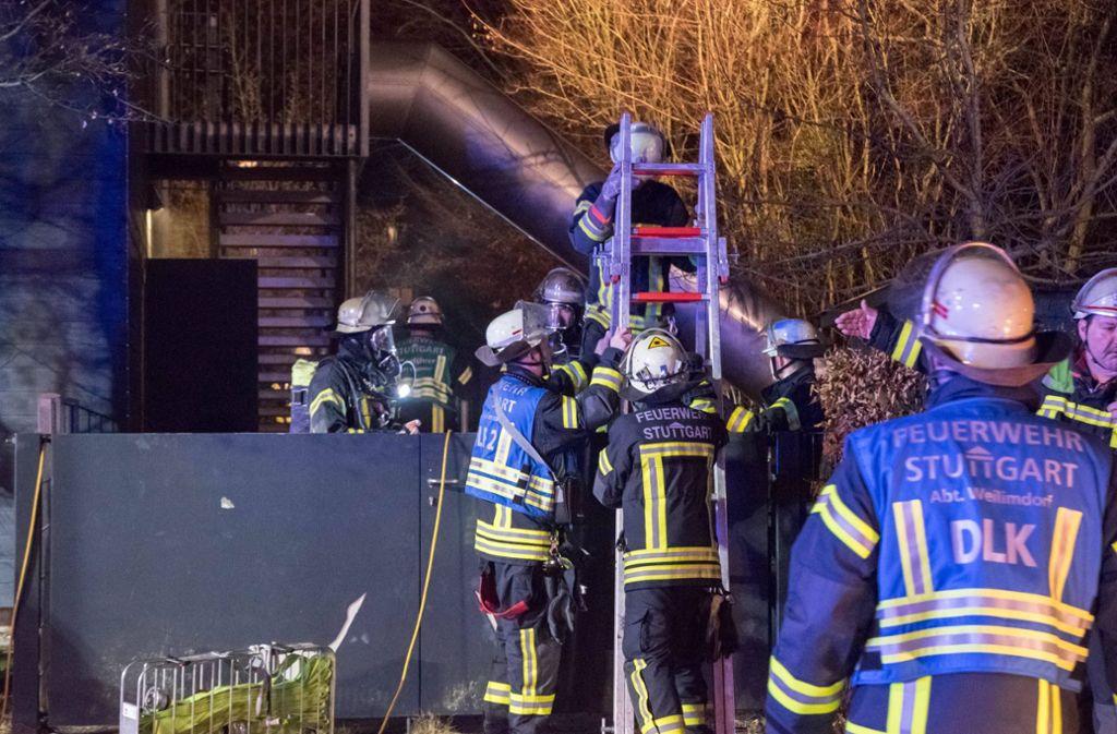 Ein technischer Defekt in einer Kita in Stuttgart-Weilimdorf löste am Dienstagabend einen Feuerwehreinsatz aus. Foto: 7aktuell.de/Nils Reeh