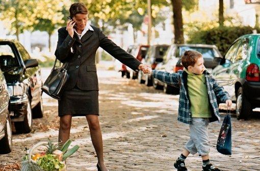 Hilfen beim Spagat zwischen Kind und   Job
