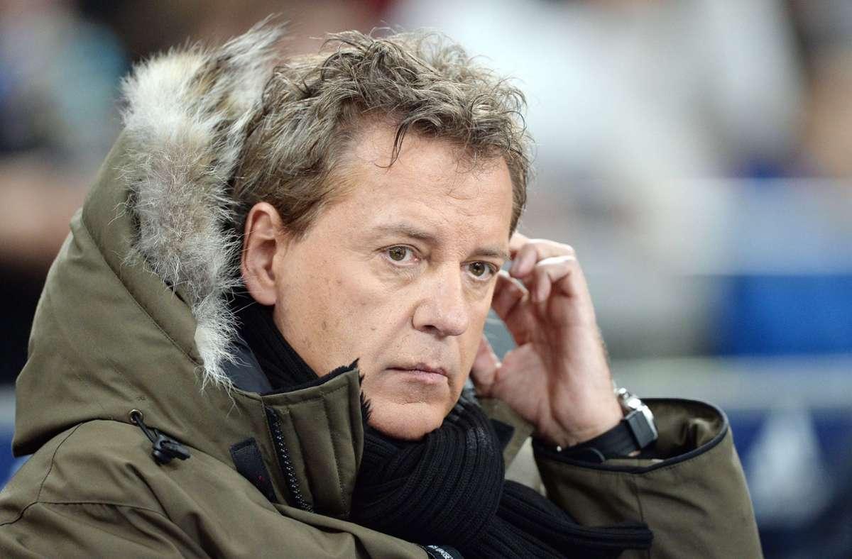 JörgDahlmann wird nicht mehr bei Sky kommentieren. (Archivbild) Foto: imago images/Schwörer Pressefoto