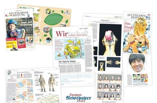 Preisregen für die Stuttgarter Zeitung