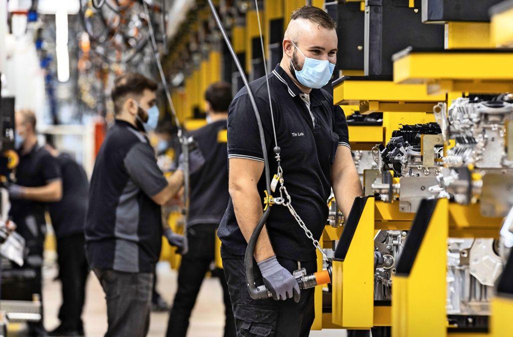 Das Schicksal der baden-württembergischen Industrie hängt auch davon ab, wie die Automobilhersteller (hier Mercedes) aus der Krise kommen. Foto: dpa/Mercedes-Benz