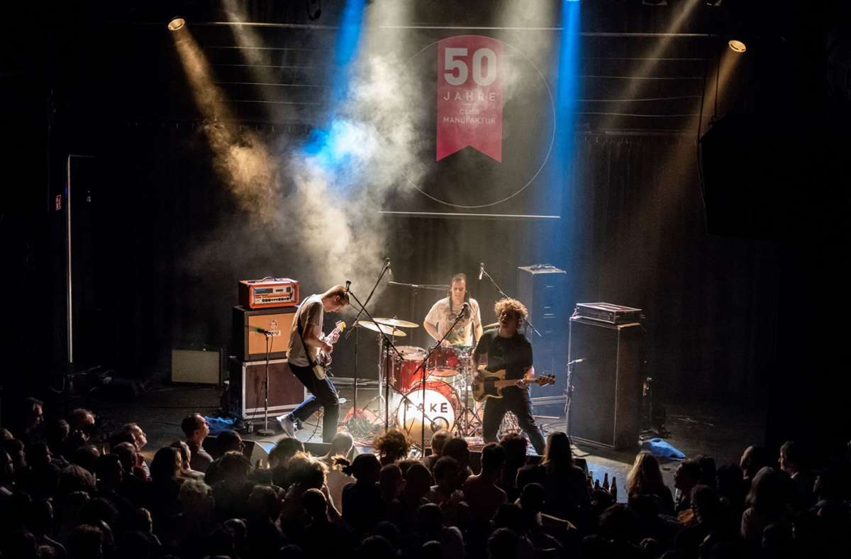 Die Schorndorfer Manufaktur gehört zu den Preisträgern– hier ein Konzert der Band Die Nerven Foto: IG Clubkultur