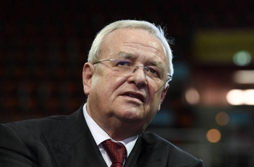 Verfahren gegen Winterkorn in Stuttgart vorläufig eingestellt