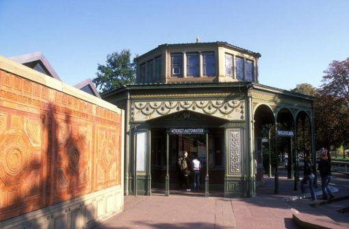 175 Jahre alter Pavillon der Wilhelma wird erstmals saniert
