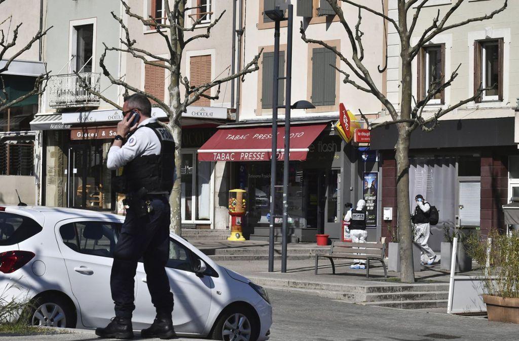 Zwei Menschen starben bei dem Angriff. Foto: dpa/Uncredited