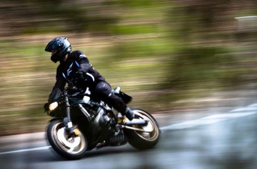 Erwischt! Motorradfahrer hat 110 auf dem Tacho