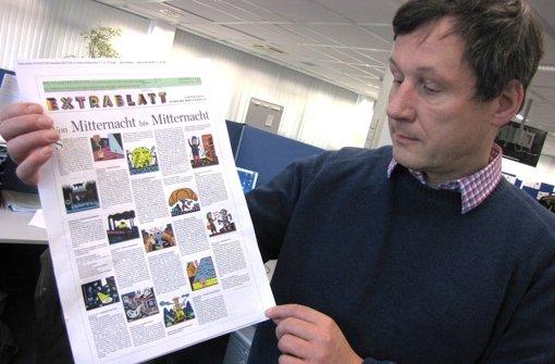 """""""Extrablatt"""": Ein Künstler in der Redaktion"""