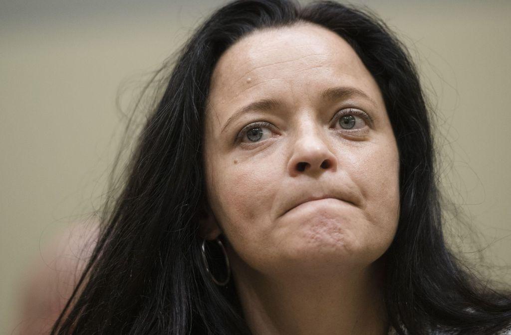 Die mutmaßliche rechtsterroristin Beate Zschäpe Foto: Getty