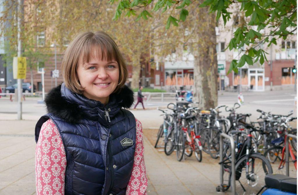 Anastasia Zwick gibt im Internet ihre Erfahrungen weiter. Foto: Eileen Breuer