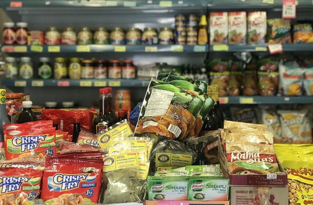 In Pyramid Hill gibt es sogar ein philippinisches Lebensmittelgeschäft Foto: dpa/Christoph Sator
