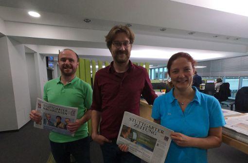Podcast: Wie entsteht die Zeitung von morgen?