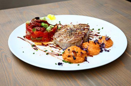Rotes Thunfischfilet  vom Grill aus dem José y Josefina