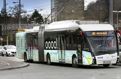 Zusätzliche Angebote im  Esslinger Busliniennetz