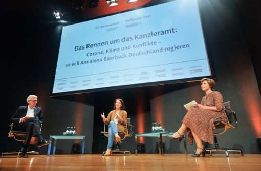 Annalena Baerbock will exakten Klimaplan