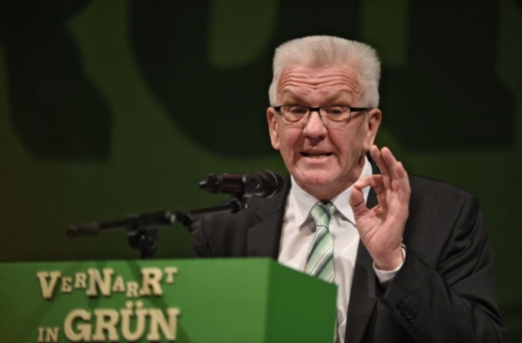 Winfried Kretschmann strebt einen Deal mit der Bundesregierung an. Foto: dpa