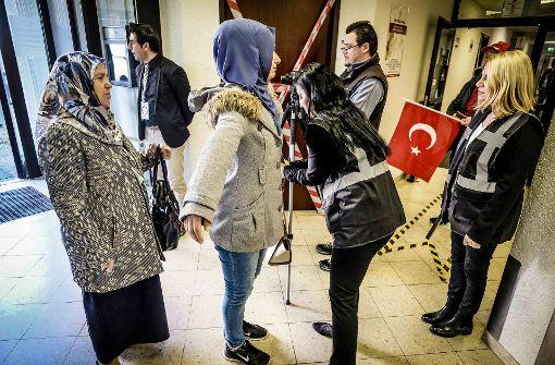 Bis jetzt  haben 40,9 Prozent der Türken gewählt