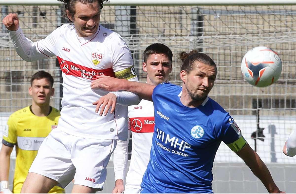 Mijo Tunjic trägt auch in der kommenden Saison die Kapitänsbinde bei den Stuttgarter Kickers. Foto: Pressefoto Baumann/Hansjürgen Britsch