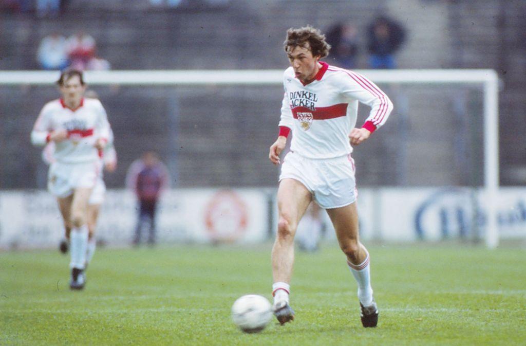Karl Allgöwer erzielte mal drei Tore gegen Nürnberg – aber das ist schon lange her. Foto: Baumann