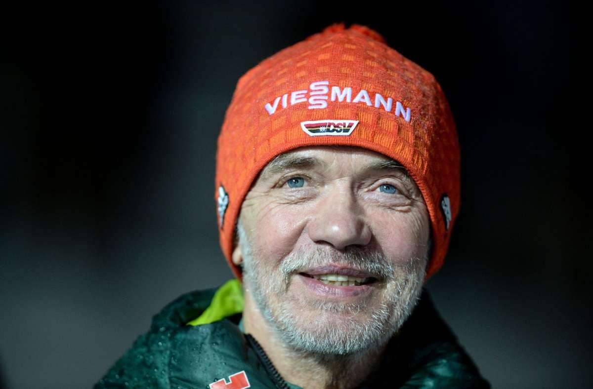Der DSV-Präsident Franz Steinle präsentiert sich als Optimist – trotz Pandemie. Foto: dpa/Patrick Seeger