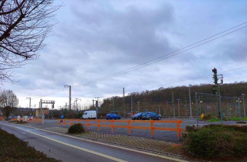 Neuer Parkplatz  beim Bahnhof