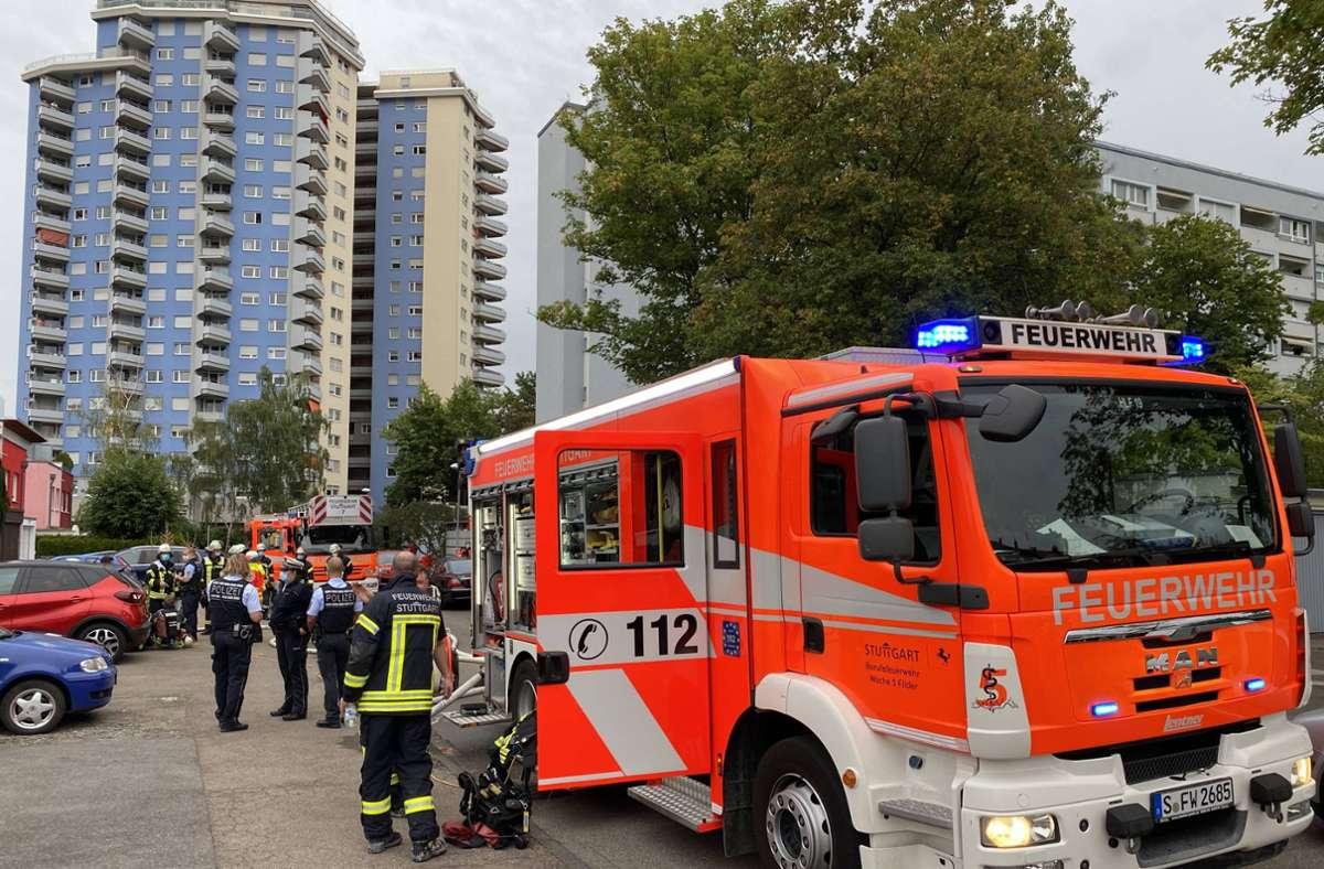In der Postfiliale war ein Brand ausgebrochen. Foto: 7aktuell.de/Alexander Hald