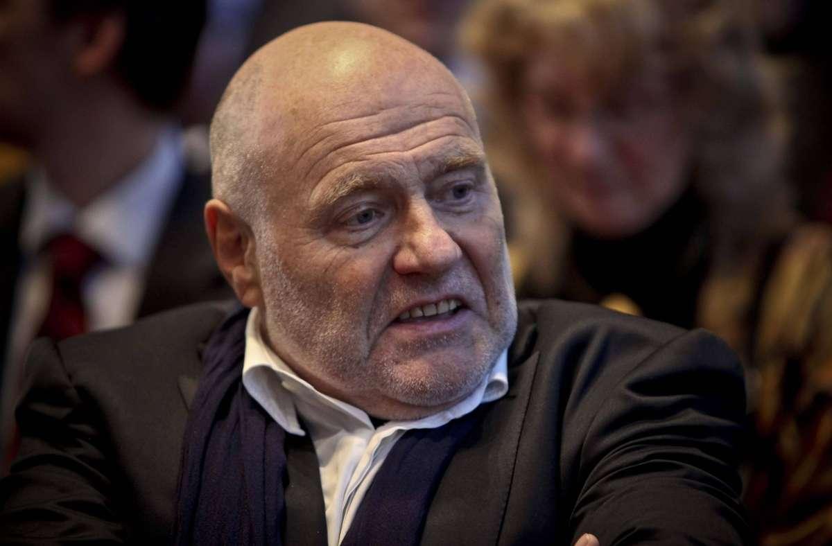 Rezzo Schlauch wird Boris Palmer im Parteiausschlussverfahren anwaltlich vertreten. (Archivbild) Foto: imago/PPfotodesign/imago stock&people