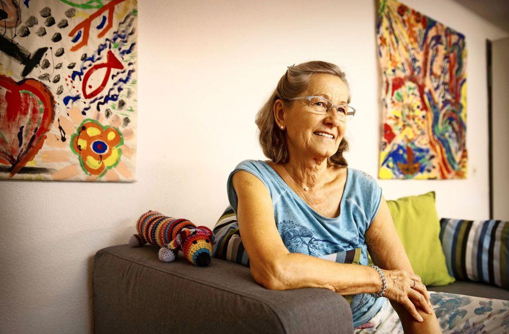 Barbara Müller engagiert sich im Kinder- und Jugendhospizdienst Sternentraum. Foto: Gottfried Stoppel