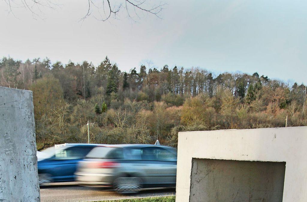 Die Teile für die Tunnel sind schon angeliefert. Am Montag geht's los. Foto: factum/Bach