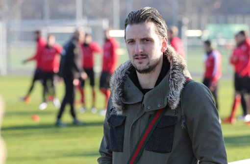 Kuzmanovic beim Training