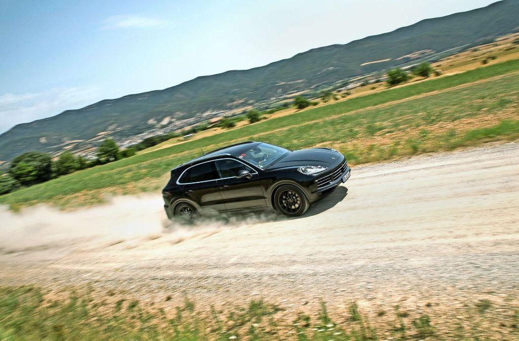 Der Cayenne ist das zweitwichtigste Modell von Porsche. Foto: Porsche