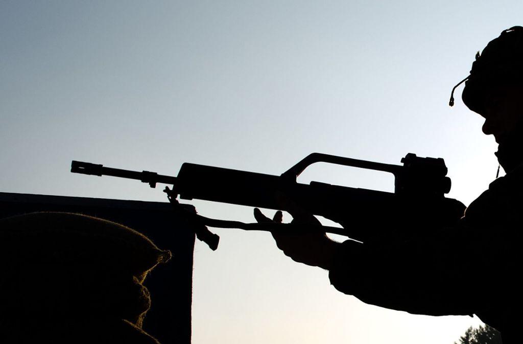 Wo üben die Amerikaner mit ihren Waffen? Nicht in Stuttgart-Vaihingen, sagt eine Sprecherin der US Army Garrison. Foto: dpa/Arno Burgi
