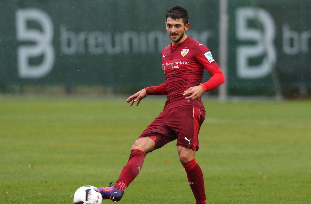 Matthias Zimmermann vom VfB Stuttgart ist Gegenstand eines kuriosen Transfers. Foto: Pressefoto Baumann
