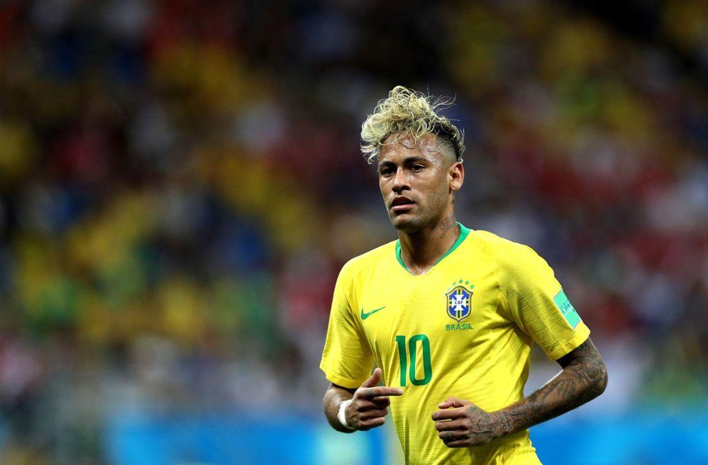 Der neue Haarschnitt des Brasilianers kam nicht bei allen Fußball-Fans gut an. Foto: Getty Images Europe
