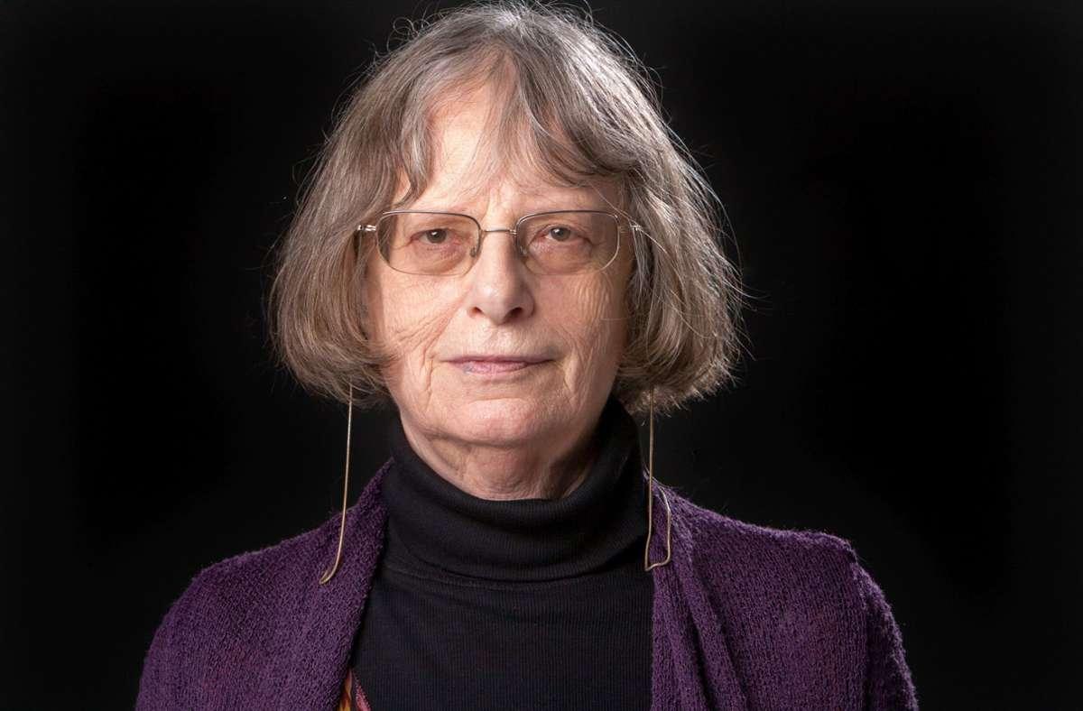 Die Büchnerpreisträgerin Elke Erb Foto: picture alliance / Gerald Zoerne
