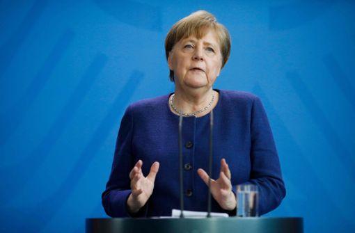 Angela Merkel sieht die EU vor ihrer größten Bewährungsprobe