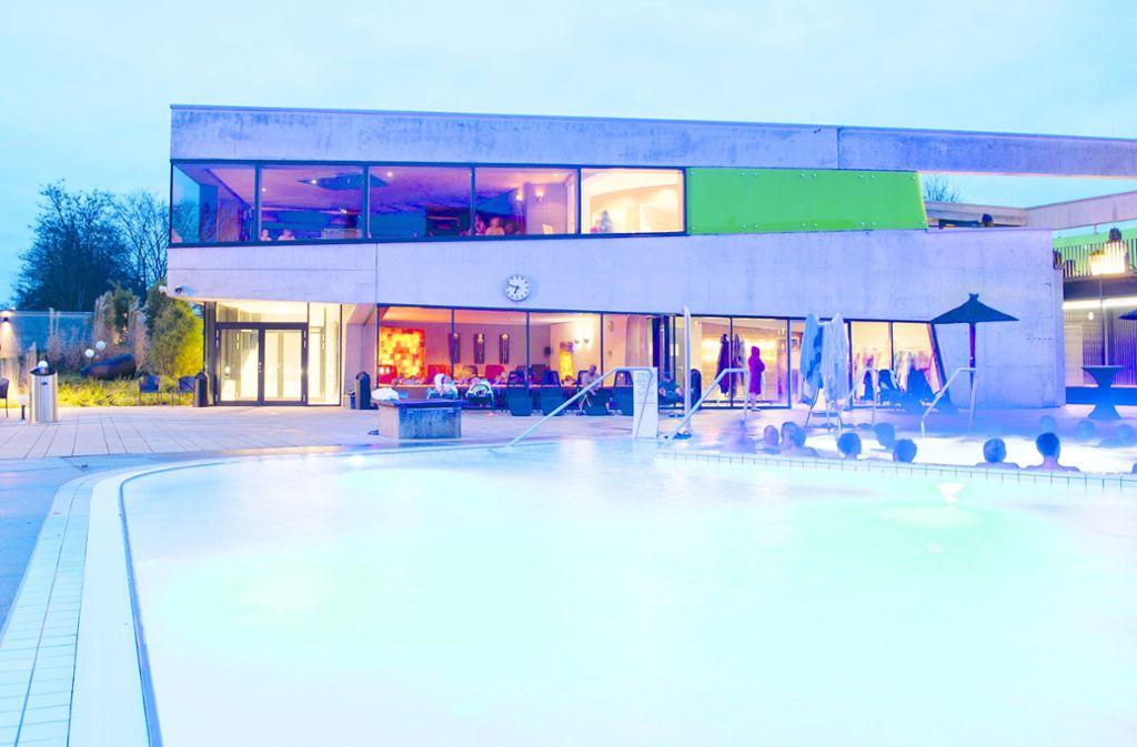 Das Fildorado in Filderstadt bietet jede Menge Entspannungs- und Schwitzmöglichkeiten. Foto: /Fildorado