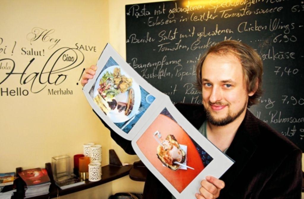 Lukas Günther fotografiert, was auf den Tisch kommt. Foto: factum/Weise