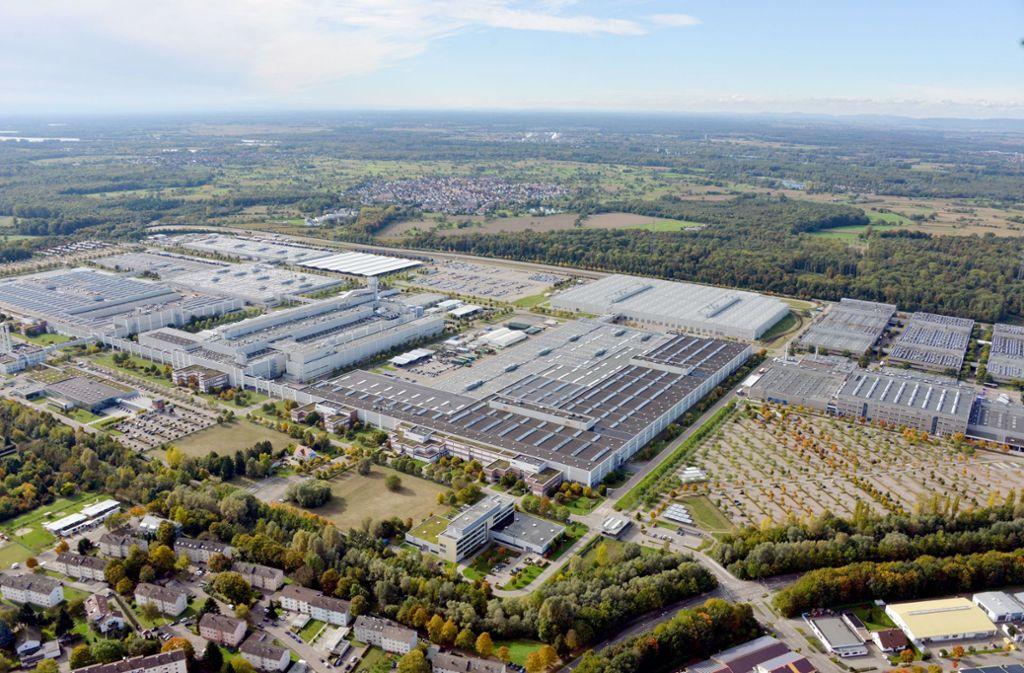 In dem Daimler-Werk in Rastatt arbeiten rund 6500 Menschen. Foto: dpa/Uli Deck
