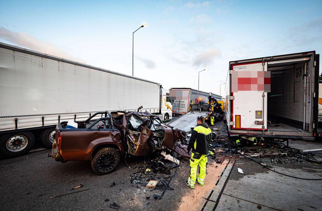 Bei diesem Unfall ist Ingo Kantorek zusammen mit seiner Ehefrau verunglückt. Foto: 7aktuell.de/Alexander Hald