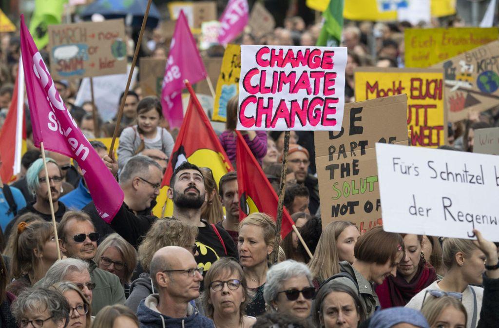 Bei nächsten globalen Protest  hofft die Protestbewegung Fridays for Future auf viele Mitstreiter Foto: dpa