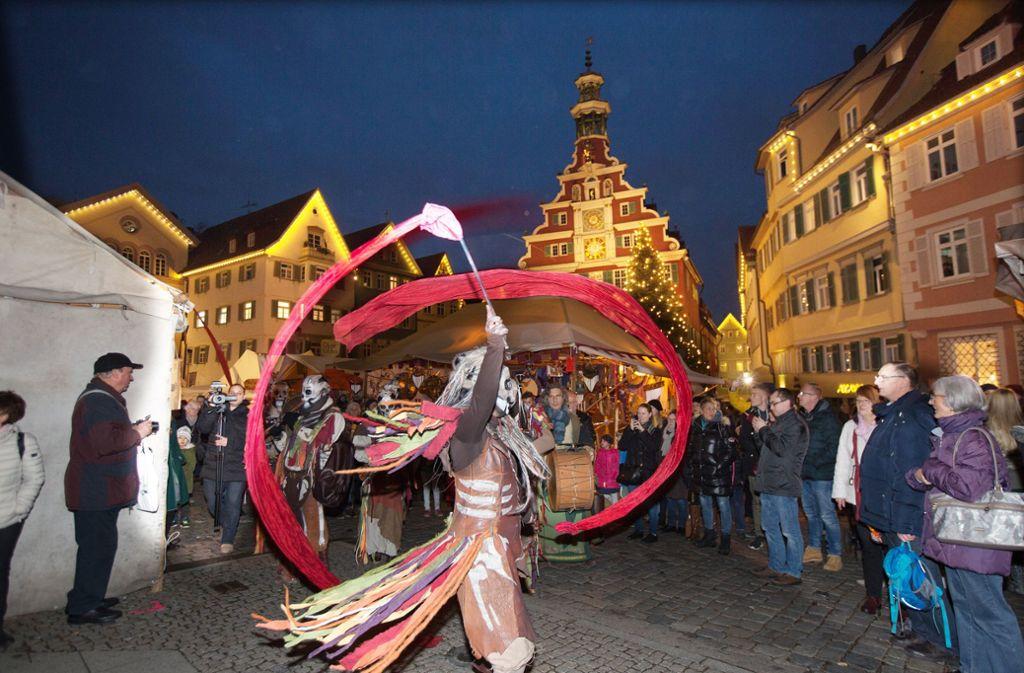Die Mischung aus Kulturprogramm und Mittelalter-Atmosphäre lockt jedes Jahr die Massen in die Esslinger Altstadt. Foto: /Horst Rudel