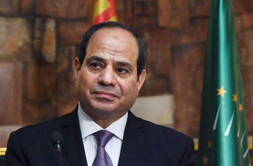 Eklat um Orden für Ägyptens Präsident hat Nachspiel