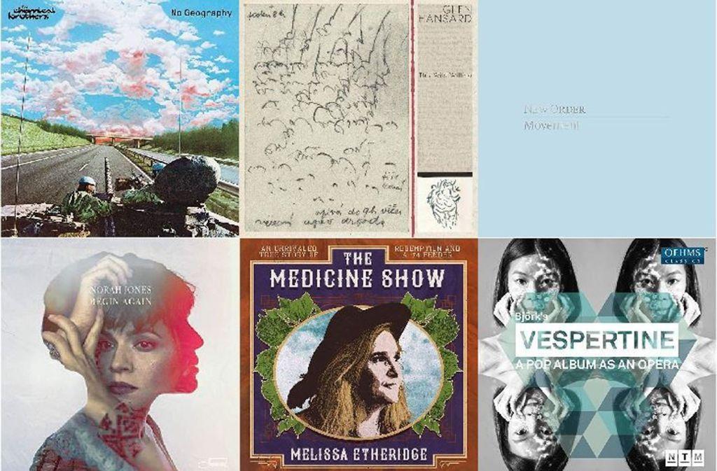 Einige der neuen Alben dieser Woche Foto: Labels