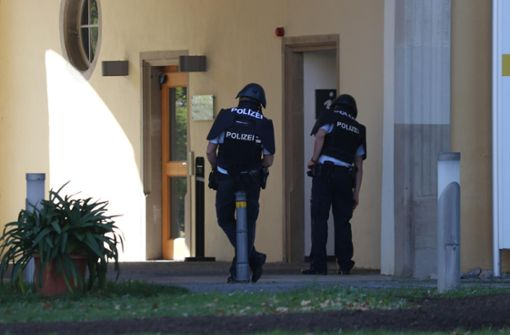 Großeinsatz der Polizei in Winnenden