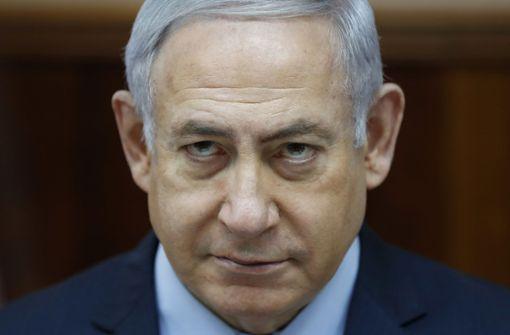 Netanjahu mit hohem Fieber ins Krankenhaus eingeliefert